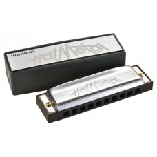 Губная гармошка HOHNER Hot Metal D (M57203X)