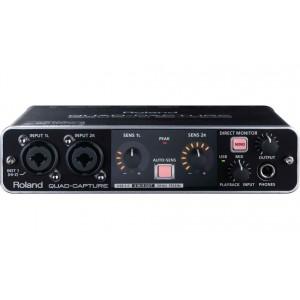 USB-аудио интерфейс ROLAND QUAD-CAPTURE